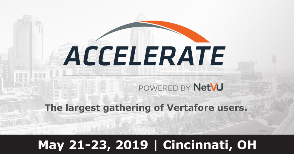 Accelerate, powered by NetVU