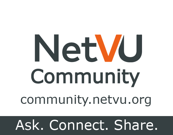Connect on the NetVU Online Community